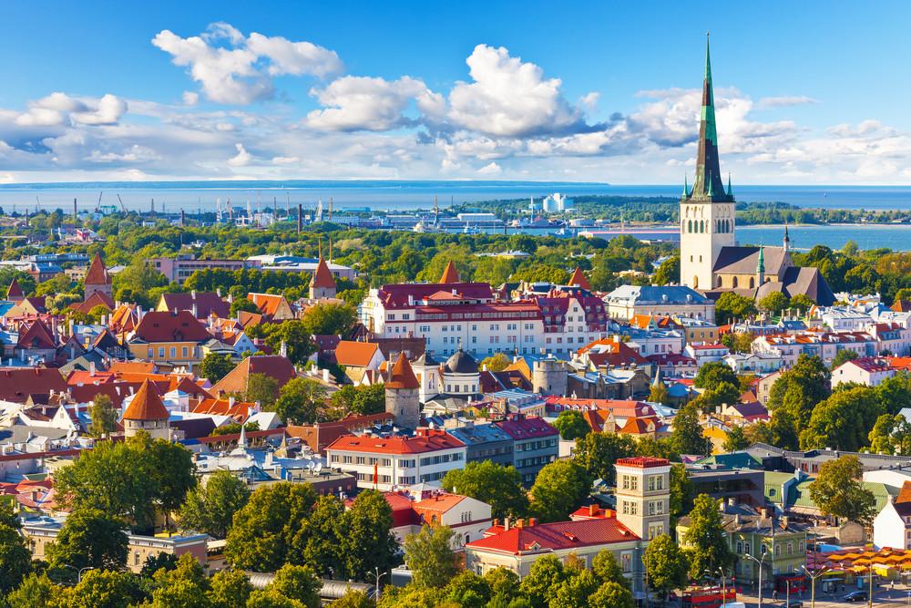 エストニア首都画像