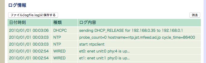 アクセスポイントとDNSとNTP(BUFFALOのWHR-G301N使用)